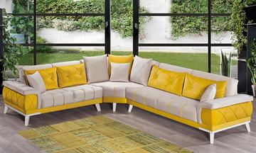 Cooper Lux Modern Köşe Koltuk Takımı
