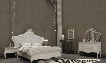 İnci Varaklı Avangarde Yatak Odası Takımı
