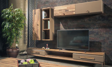 Bronze Modern Tv Ünitesi