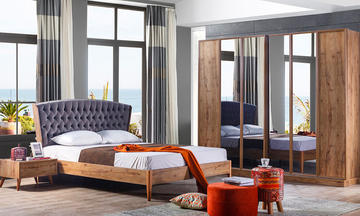 Rozella Sade Modern Yatak Odası Takımı