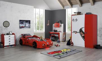 Racer Arabalı Çocuk Odası Takımı