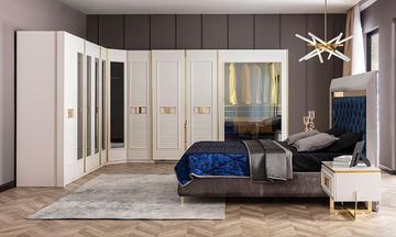 Gloria Giyinme Odası Yatak Odası Takımı