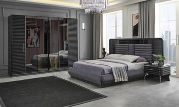 Asel Antrasit Yatak Odası Takımı