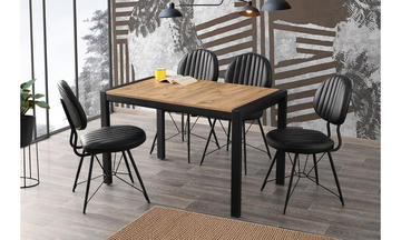 Tuğra Masa+Ahtapot Sandalye Seti MUTFAK SETLERİ