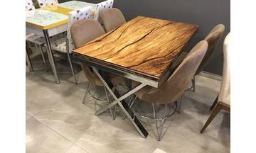 Osmanlı X Masa Sandalye Takımı Mutfak Masası