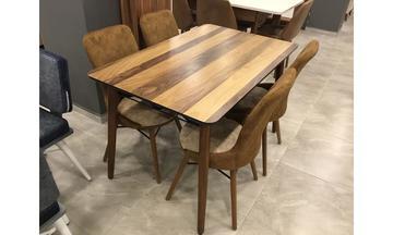 Osmanlı Ahşap Mutfak Takımı 4 Kişilik Mutfak Masası