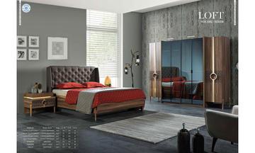 Loft Modern Yatak Odası