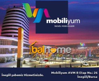 İngöl Mobiliyum AVM de yeni şubemizle hizmetinizdeyiz.