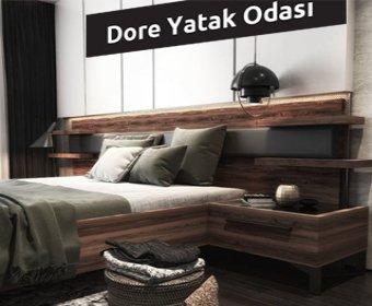 Modern Dore yatak odası