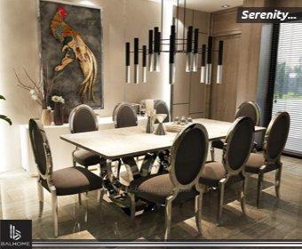 Serenity Yemek Odası Takımı