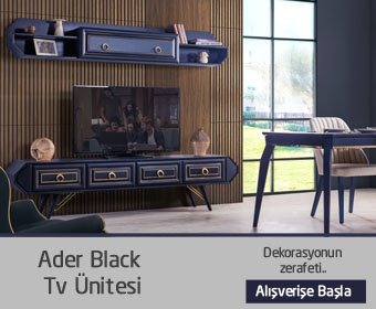 Ader Black Tv Ünitesi