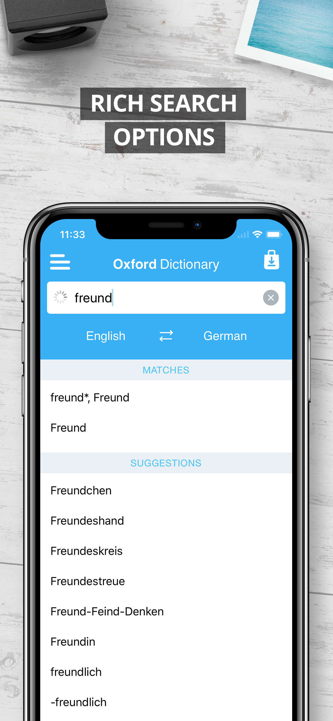 Oxford german dictionary free.