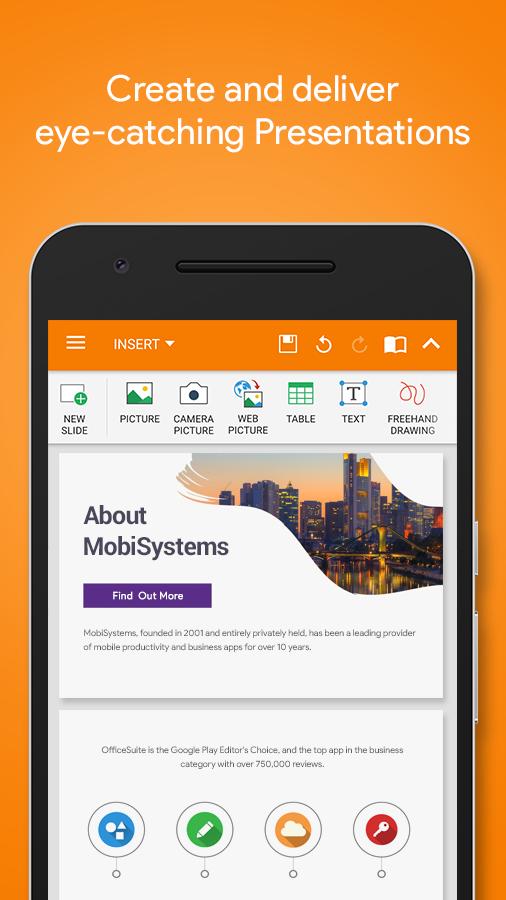 Officesuite professional app screenshot fandeluxe Gallery