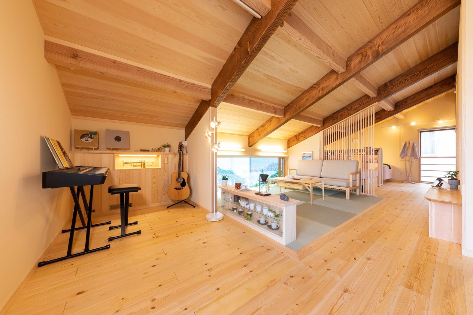 「本物の無垢材」伝統工法を進化させた木組みの住まい。