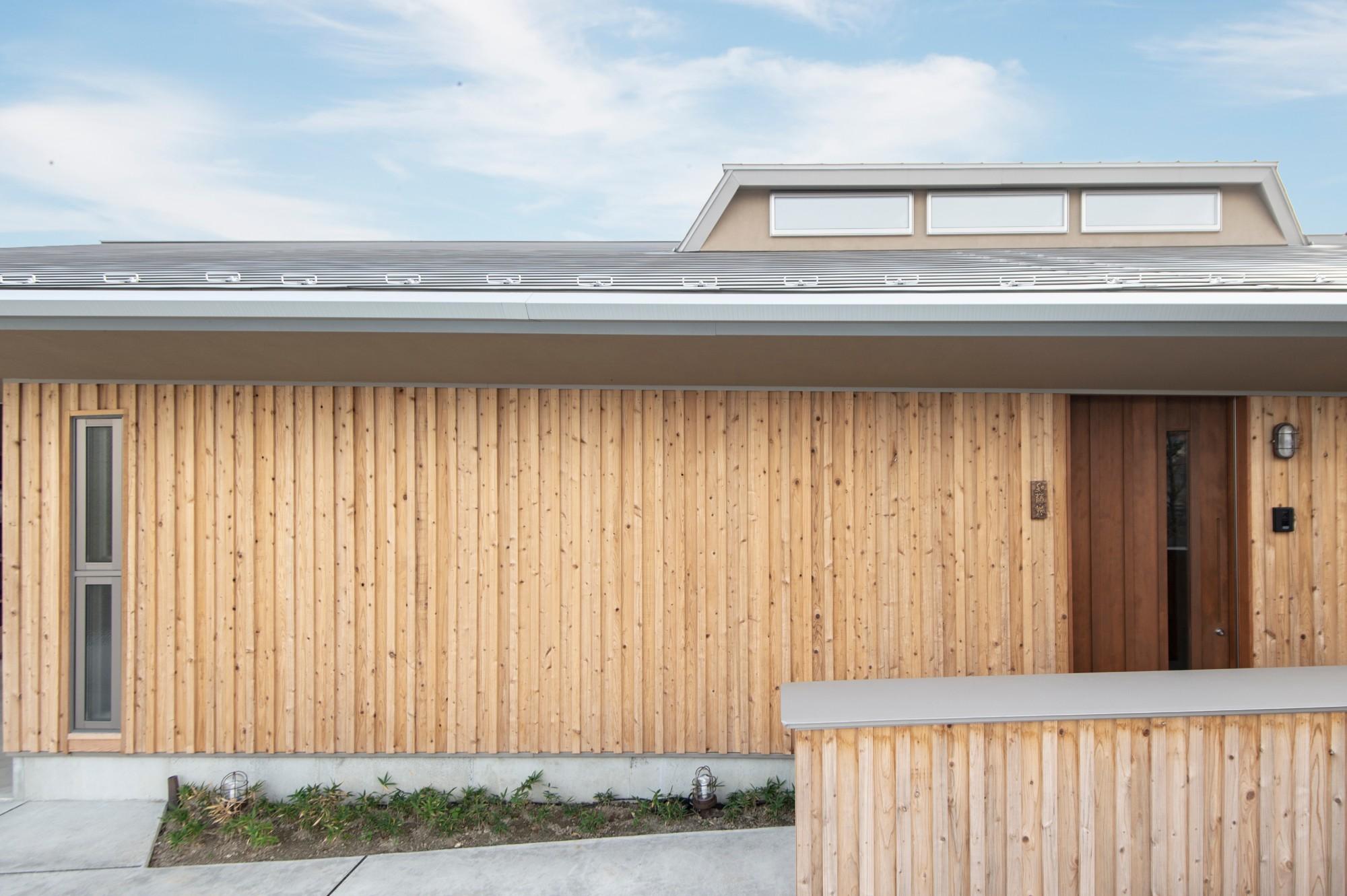 有限会社 神田陸建築設計事務所「茶茂庵」の外観の実例写真