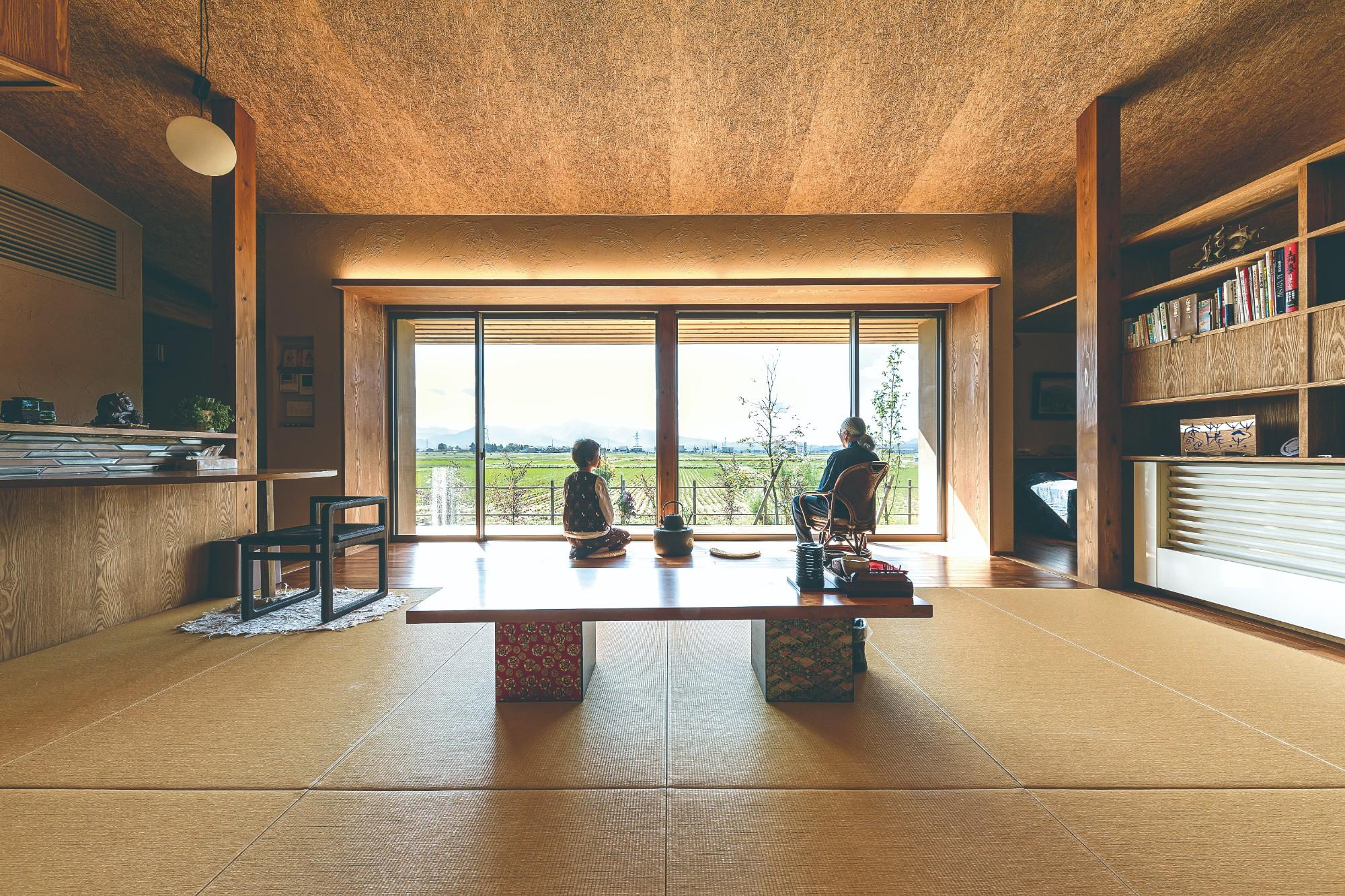 有限会社 神田陸建築設計事務所「茶茂庵」の自然素材な実例写真