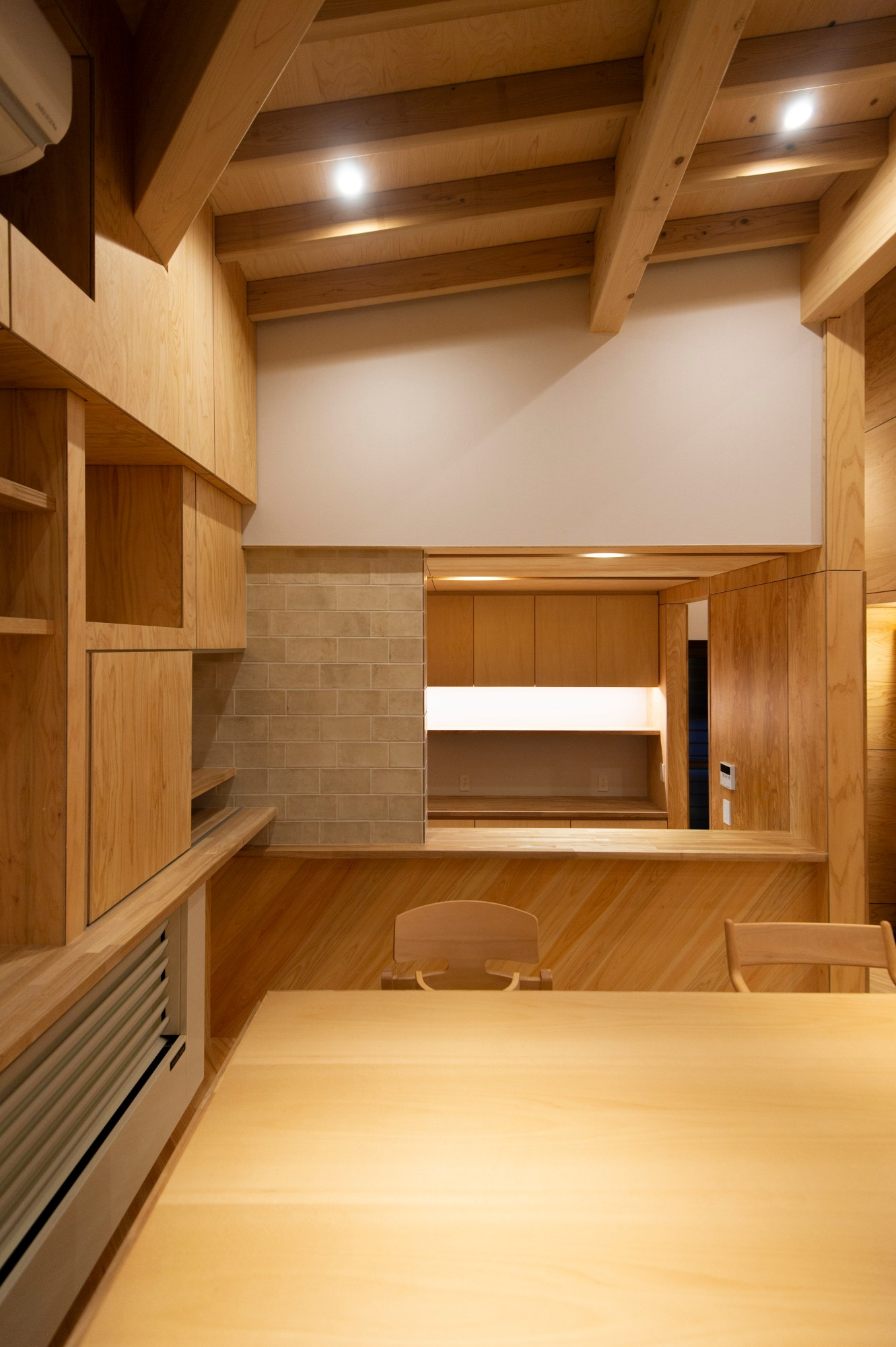 有限会社 神田陸建築設計事務所「ジャングルジムの家」の実例写真