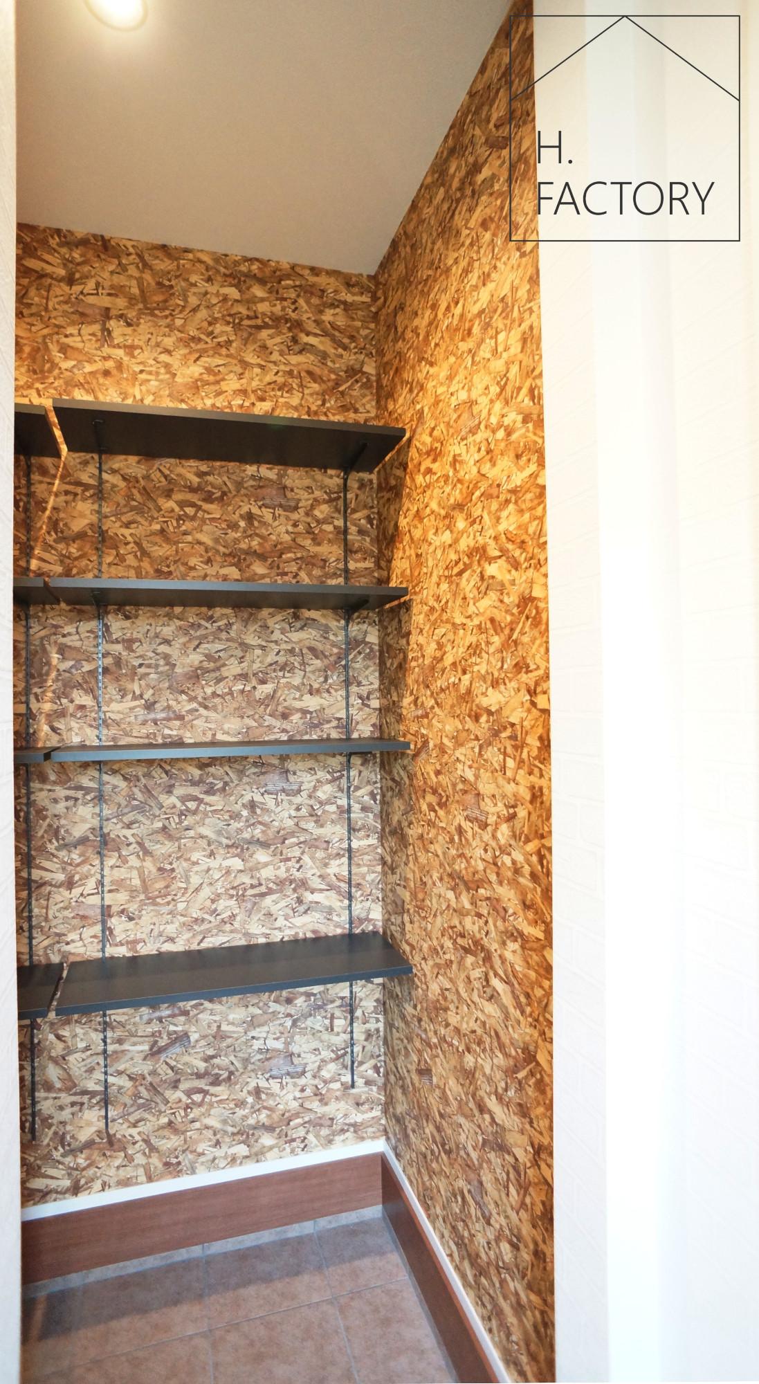 H.FACTORY/株式会社 橋本技建「インダストリアル&カワイイの家」の実例写真