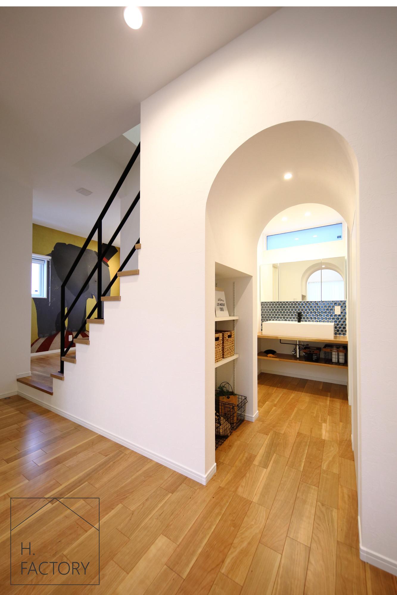 H.FACTORY/株式会社 橋本技建「カルフォルニアスタイルを愉しむ家」の実例写真