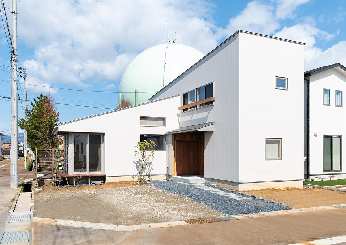 株式会社Ag-工務店「水道町の家」の外観の実例写真