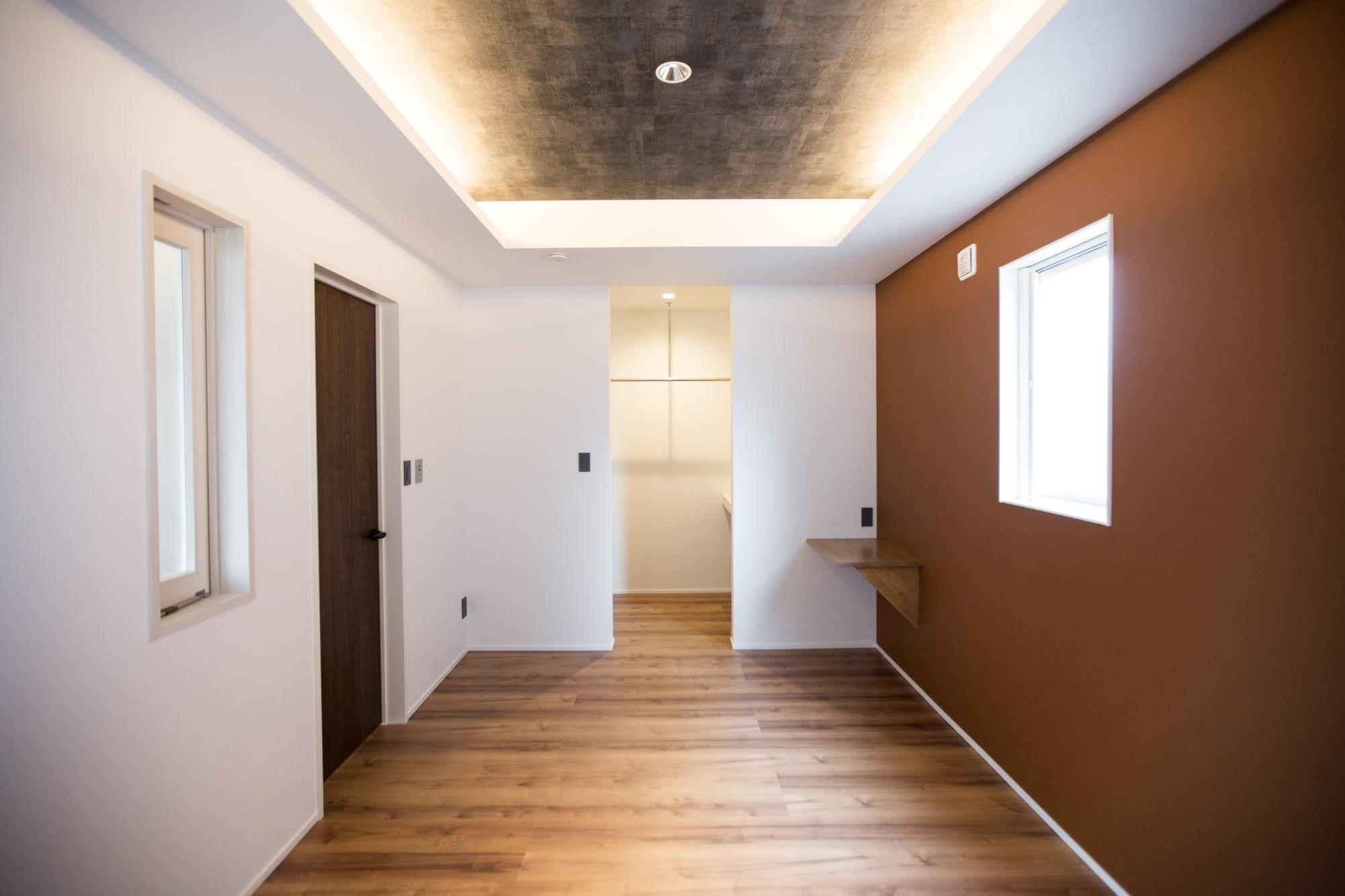 ニコハウス株式会社「ゆとり空間とこだわりが詰まったスタイリッシュハウス」のシンプル・ナチュラル・モダンな居室の実例写真