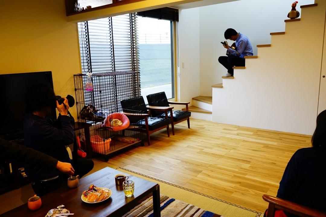 株式会社モリタ装芸「土間ロマン」のシンプル・ナチュラルなリビング・ダイニングの実例写真