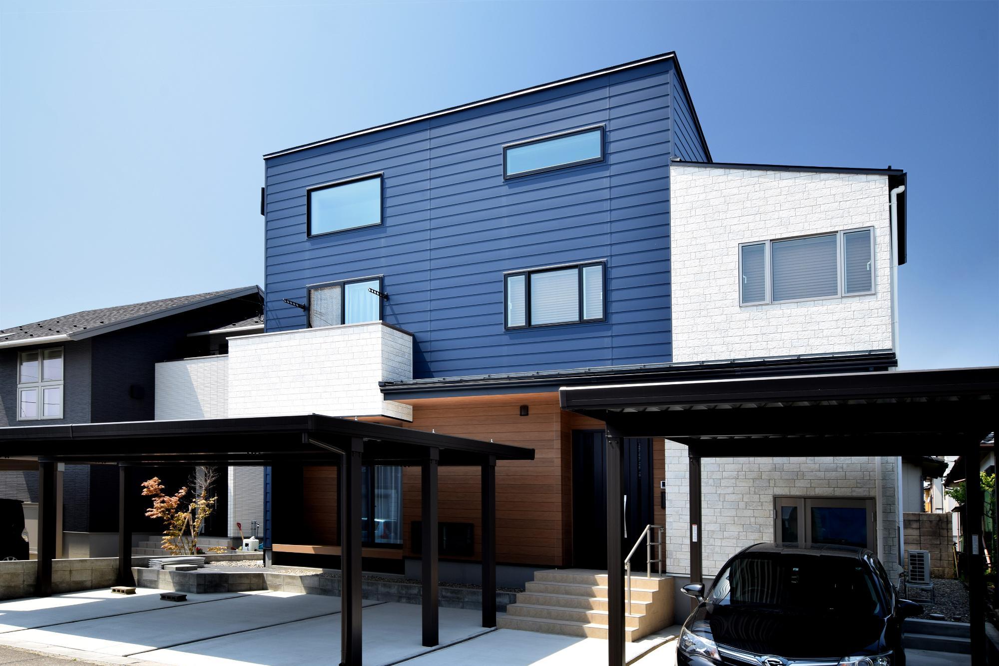 機能性高く快適に巣まう2世帯住宅の写真1