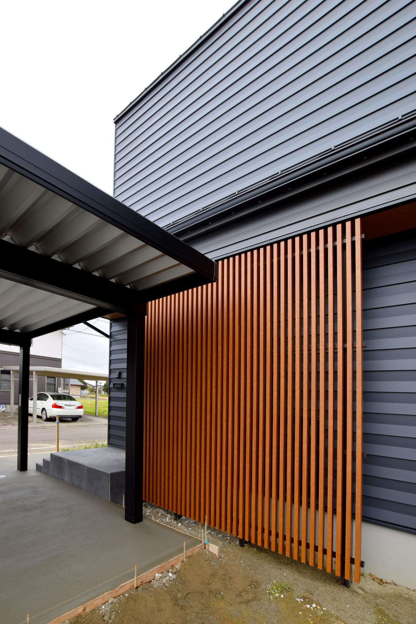 DETAIL HOME(ディテールホーム)「充実収納のスタイリッシュハウス」のモダン・和風・和モダンな外観の実例写真