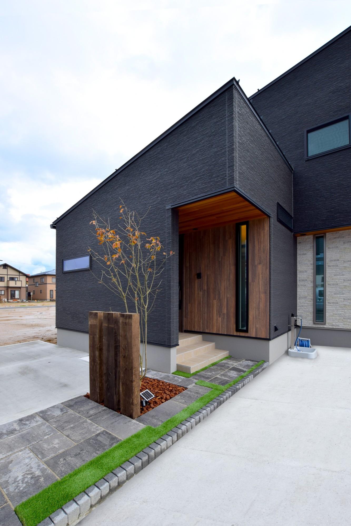 DETAIL HOME(ディテールホーム)「和と洋の溶け合う心地いい暮らし」の和風・和モダンな外観の実例写真
