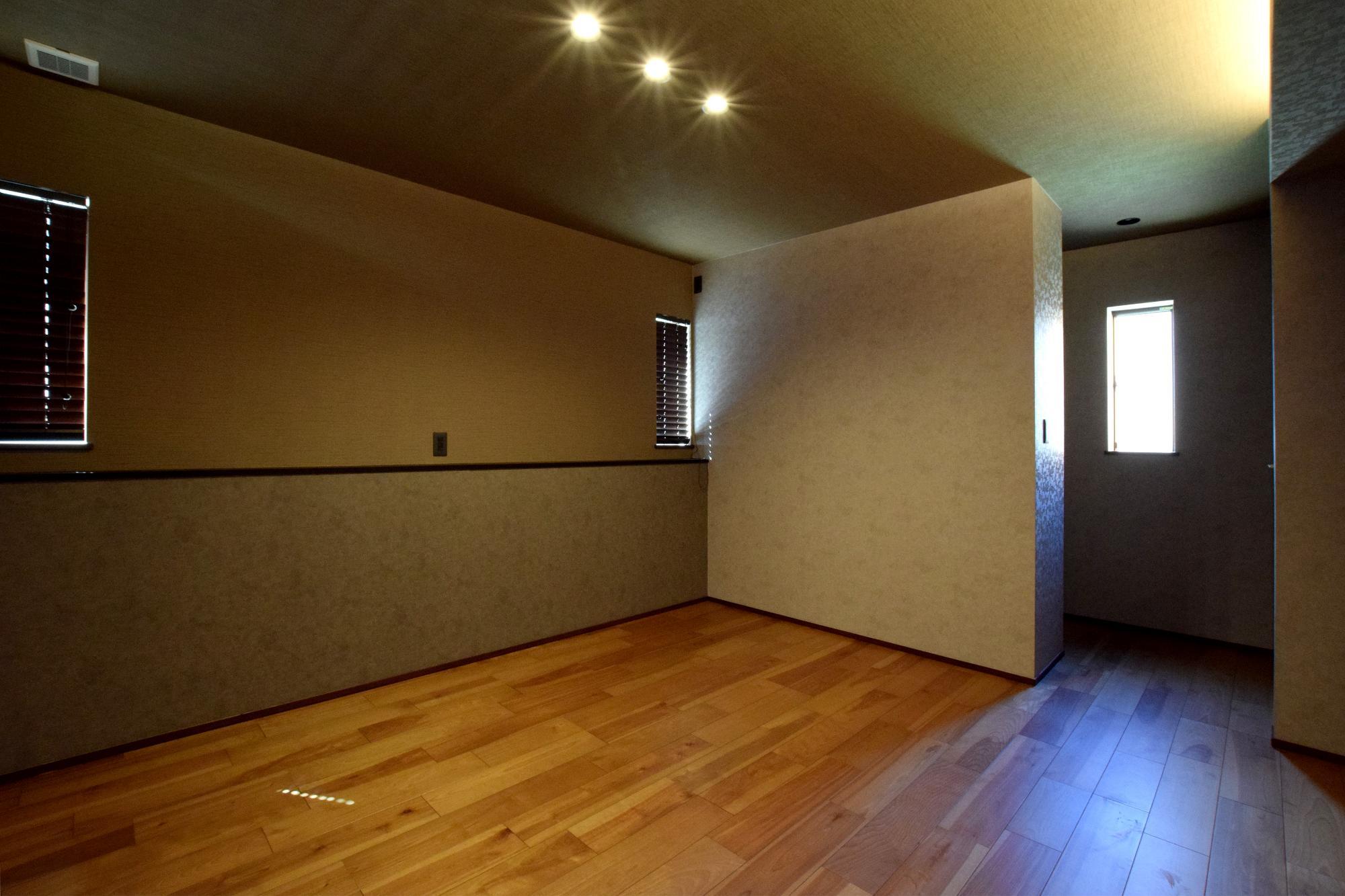 DETAIL HOME(ディテールホーム)「断熱材が2倍の全館空調の家」のシンプル・ナチュラル・モダンな居室の実例写真