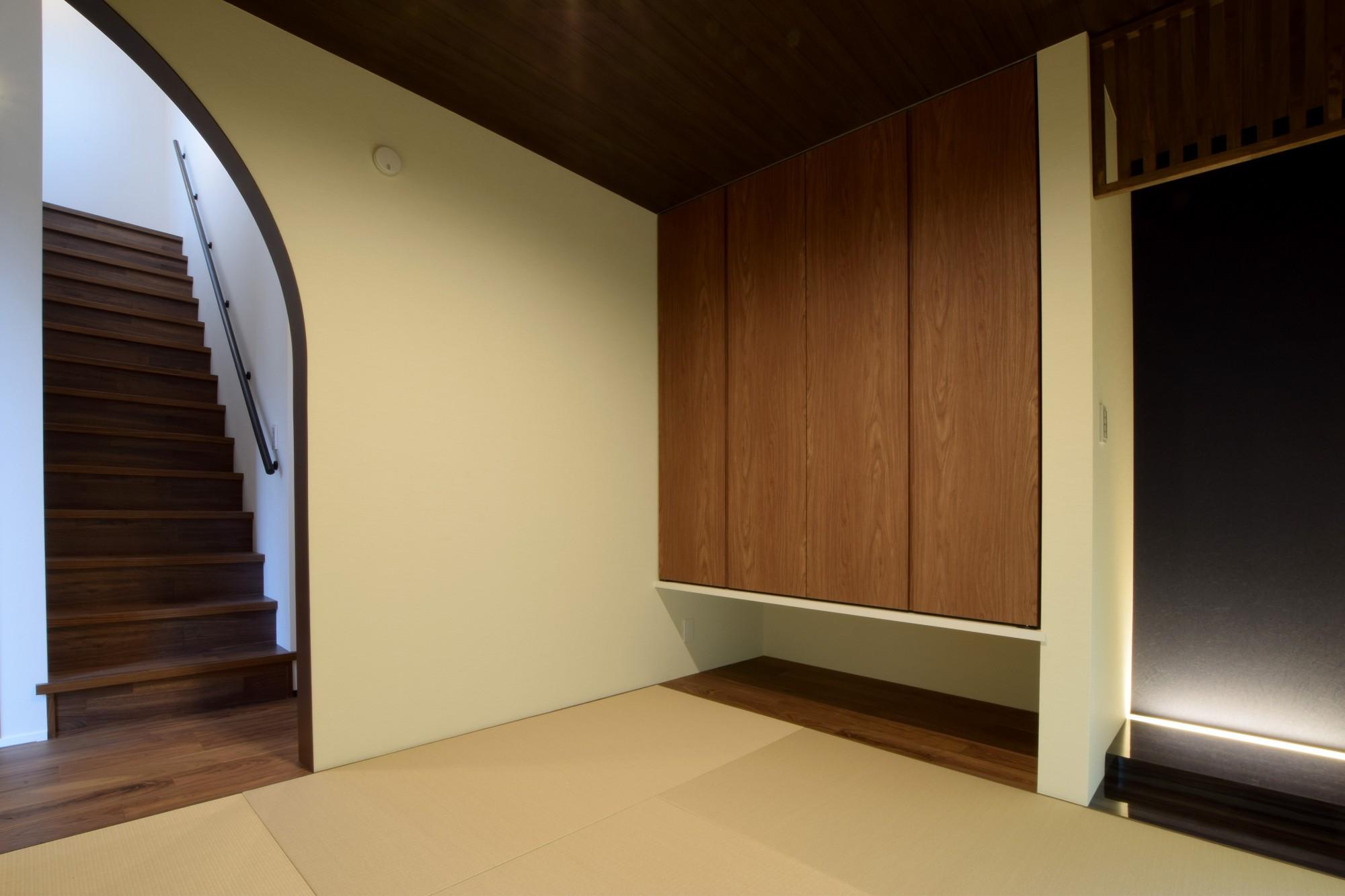 DETAIL HOME(ディテールホーム)「インナーガレージとともに暮らす」のシンプル・ナチュラルな居室の実例写真