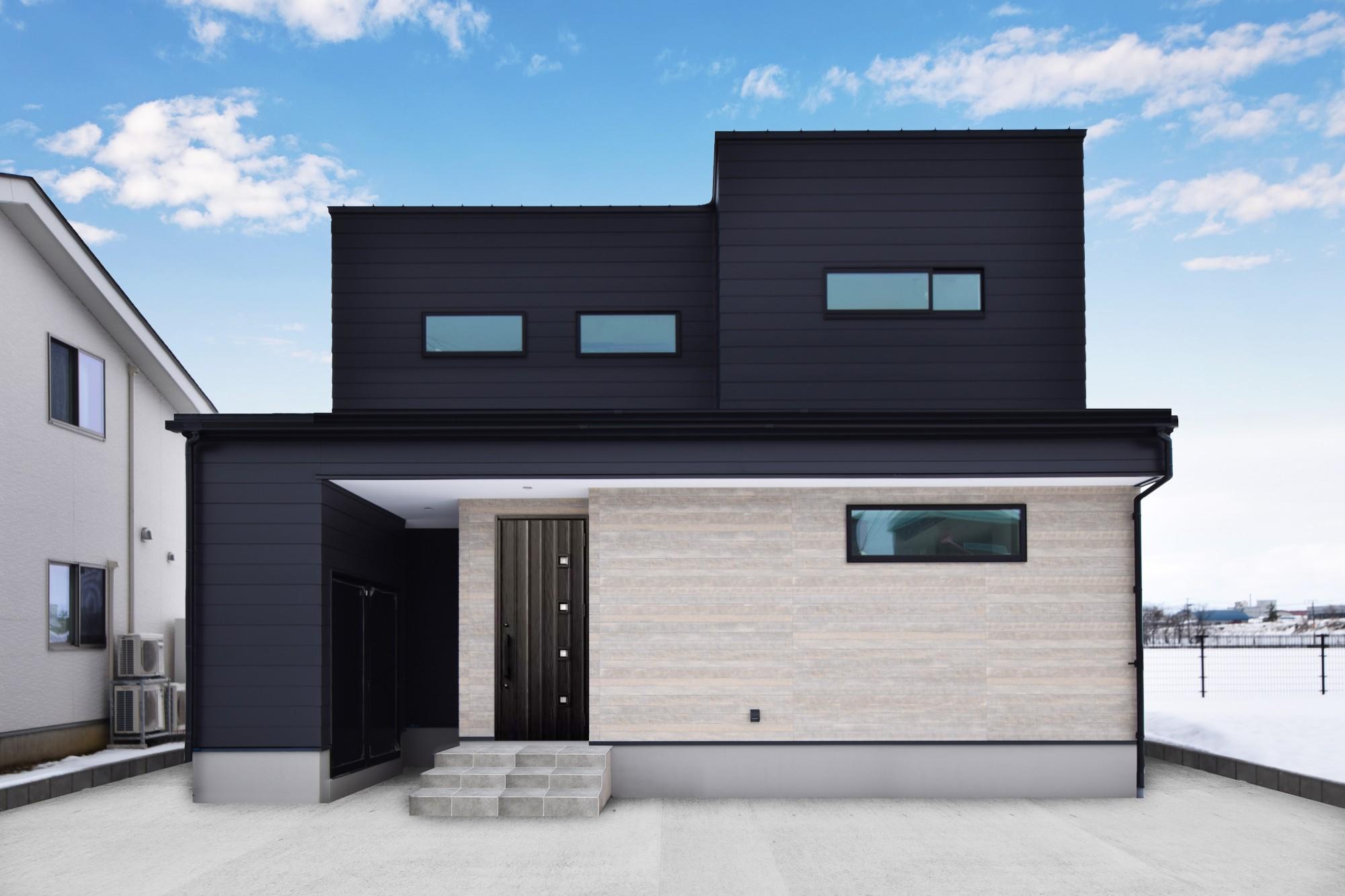 DETAIL HOME(ディテールホーム)「おうち時間を大切にした住まい」のシンプル・ナチュラルな外観の実例写真