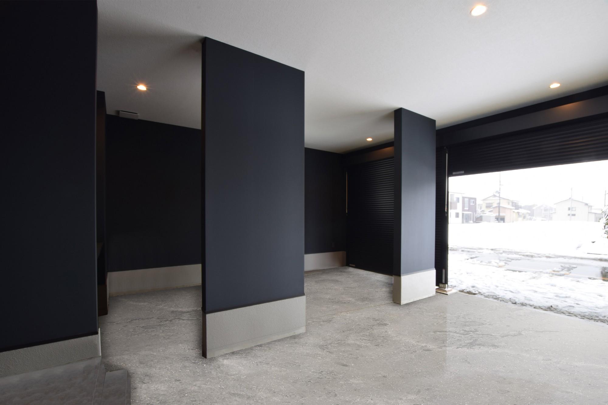 DETAIL HOME(ディテールホーム)「趣味と風景をたのしむ家」のヴィンテージなガレージの実例写真