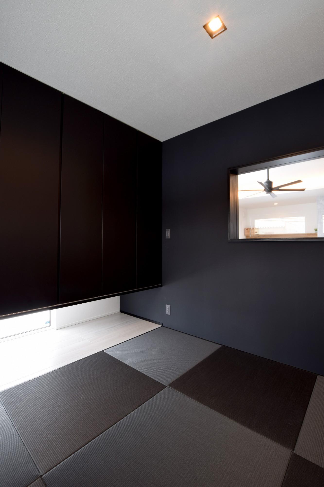 DETAIL HOME(ディテールホーム)「趣味と風景をたのしむ家」のヴィンテージな居室の実例写真