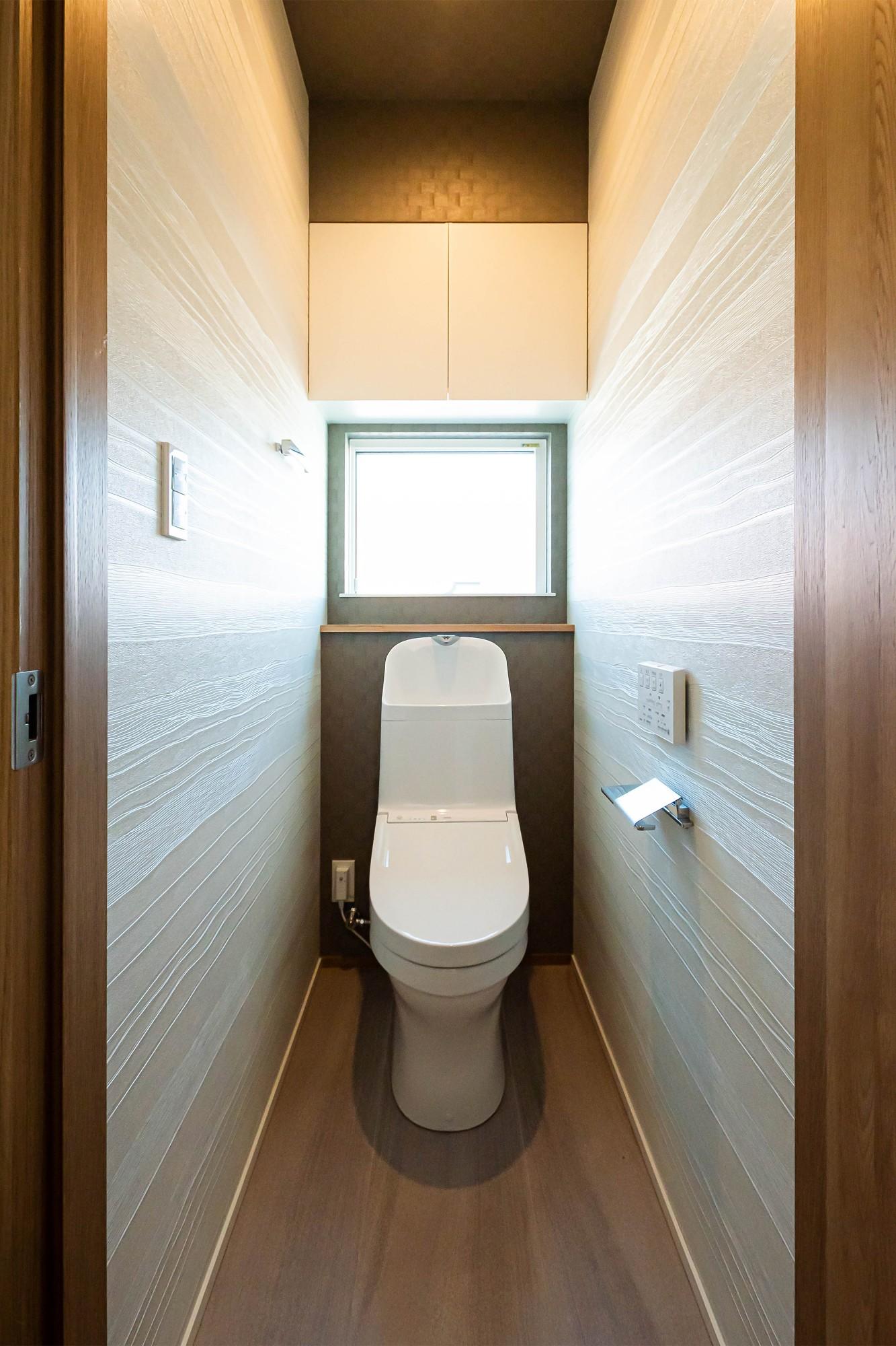 DETAIL HOME(ディテールホーム)「街並みに調和した住まい」のシンプル・ナチュラルなトイレの実例写真