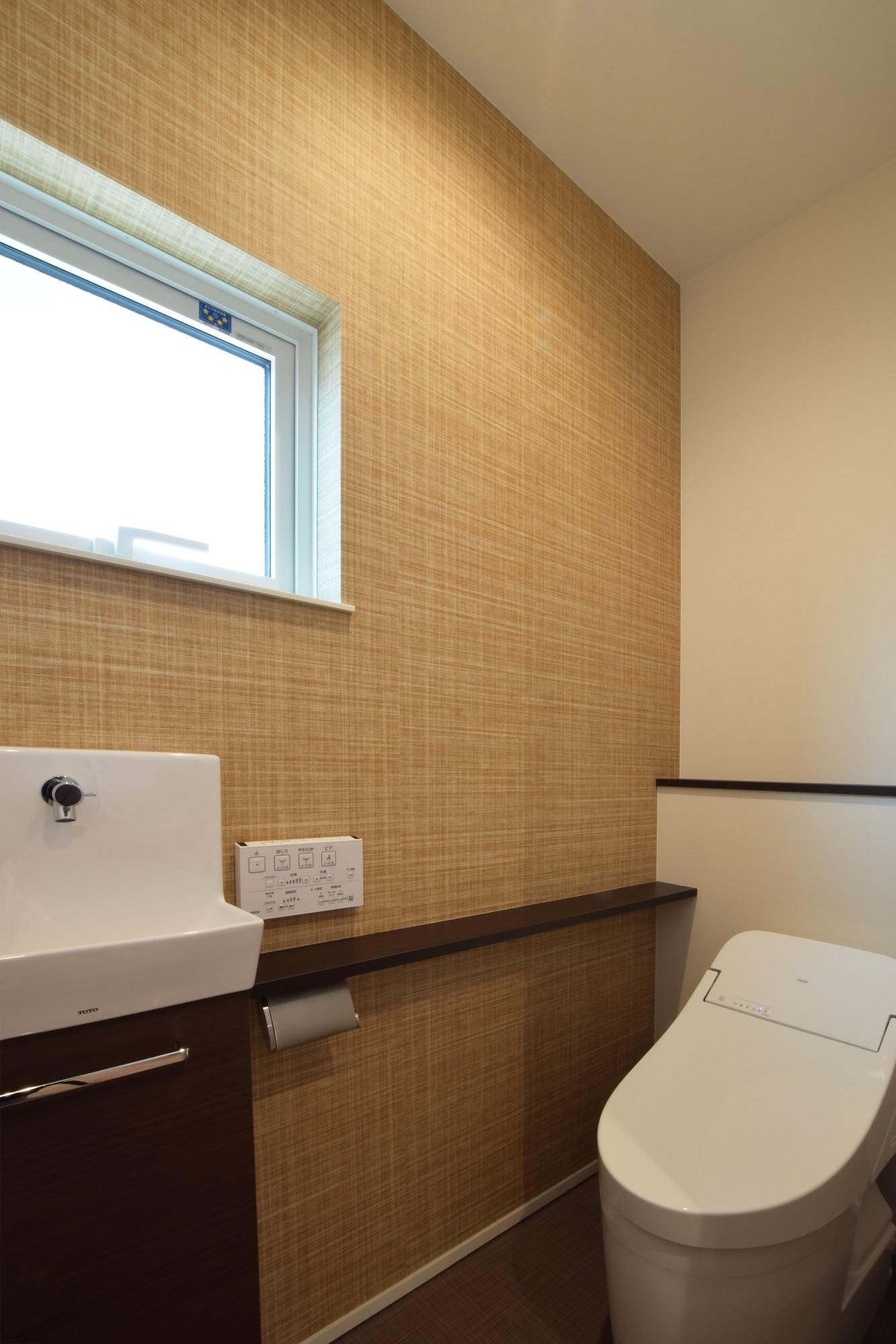 DETAIL HOME(ディテールホーム)「ナチュラルに、カジュアルに、カジラクに」のシンプル・ナチュラルなトイレの実例写真