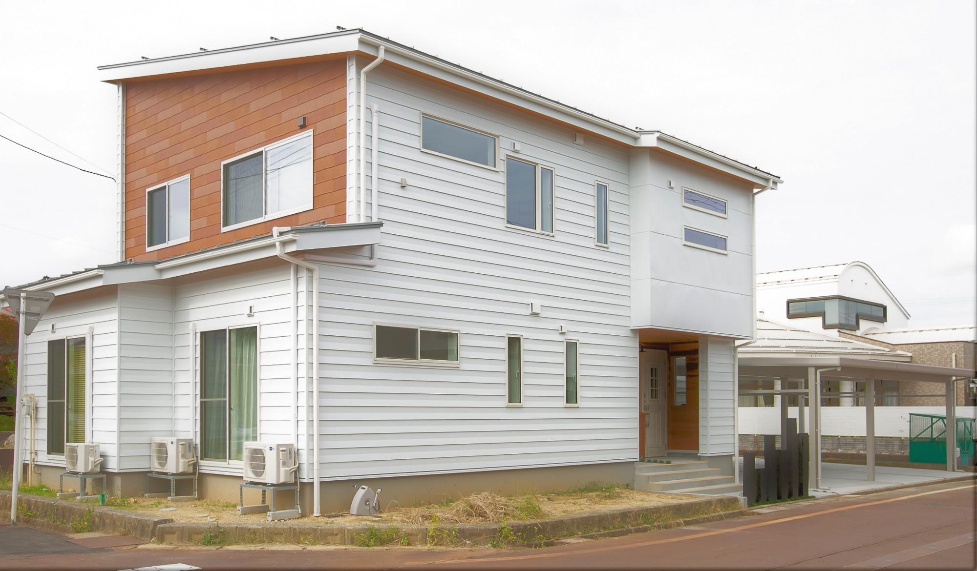 HASHIKEN「程よい距離の2世帯住宅」の実例写真