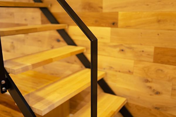 3. 建築のプロの目で厳選した、高品質な素材を採用