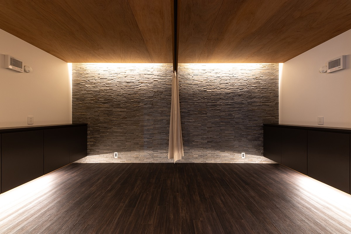 株式会社あかがわ建築設計室「離れの家」のシンプル・ナチュラル・モダンな実例写真