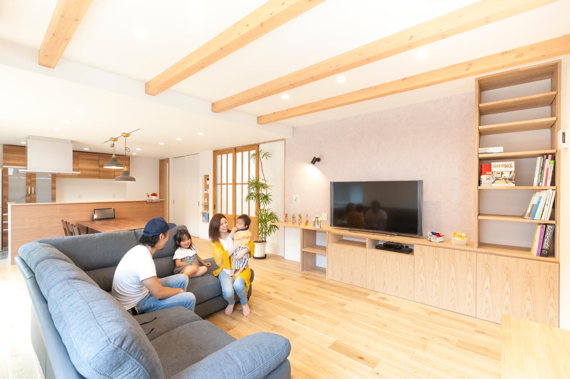 株式会社mokusia「三世代を継なぐ家」の実例写真
