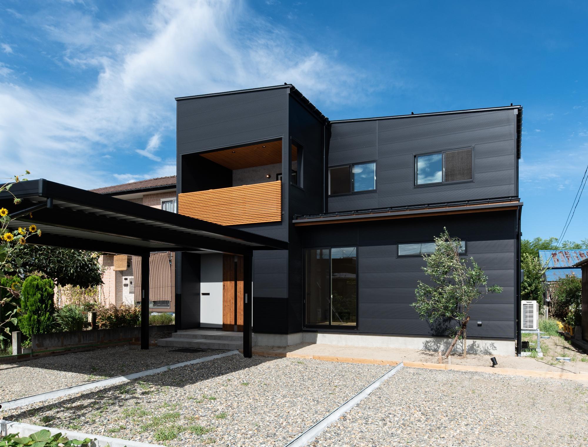 株式会社mokusia「風景と桜を望む家」の実例写真