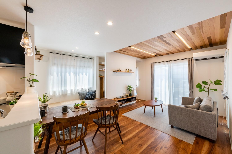 間取り 収納 家事動線 ランニングコストに結びつく性能を追求し「住み心地」にこだわったお家です