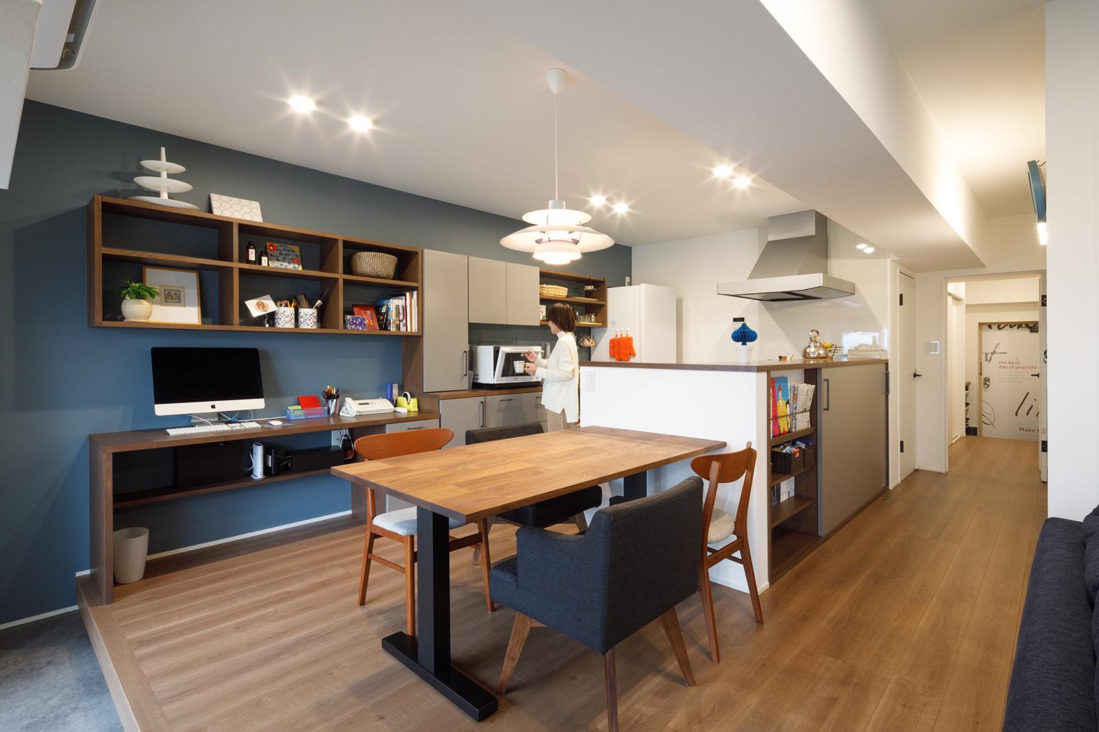 眺望のあるマンションリノベーションの写真4