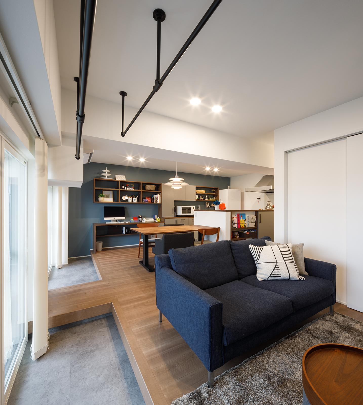 眺望のあるマンションリノベーションの写真2
