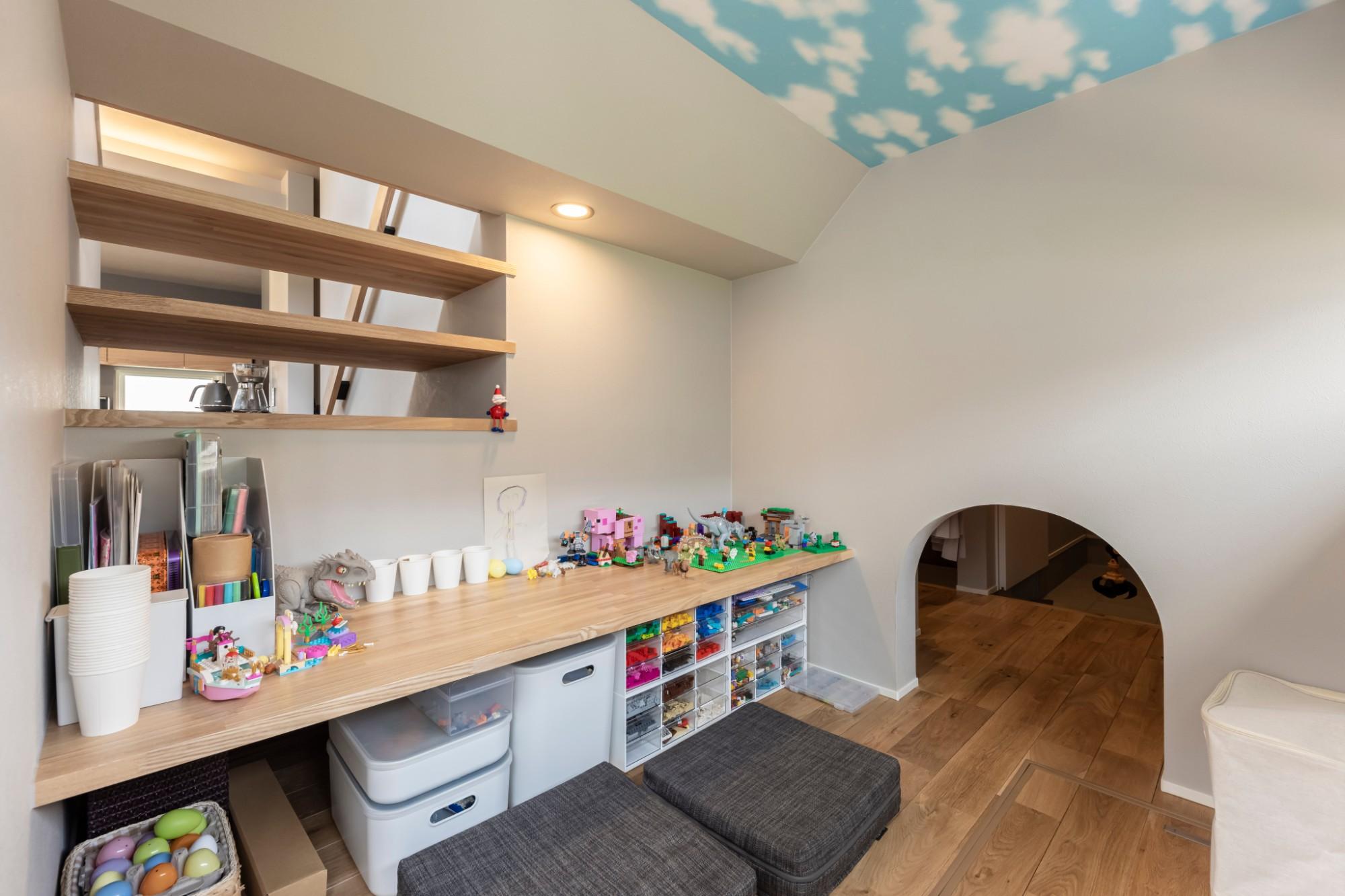 株式会社ユースフルハウス「秘密基地の家」の実例写真