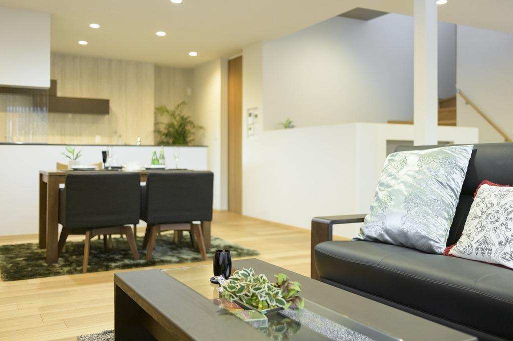 クーディーホーム【アスカ創建】「リビングでの時間が増える、スキップフロアのある家」の実例写真