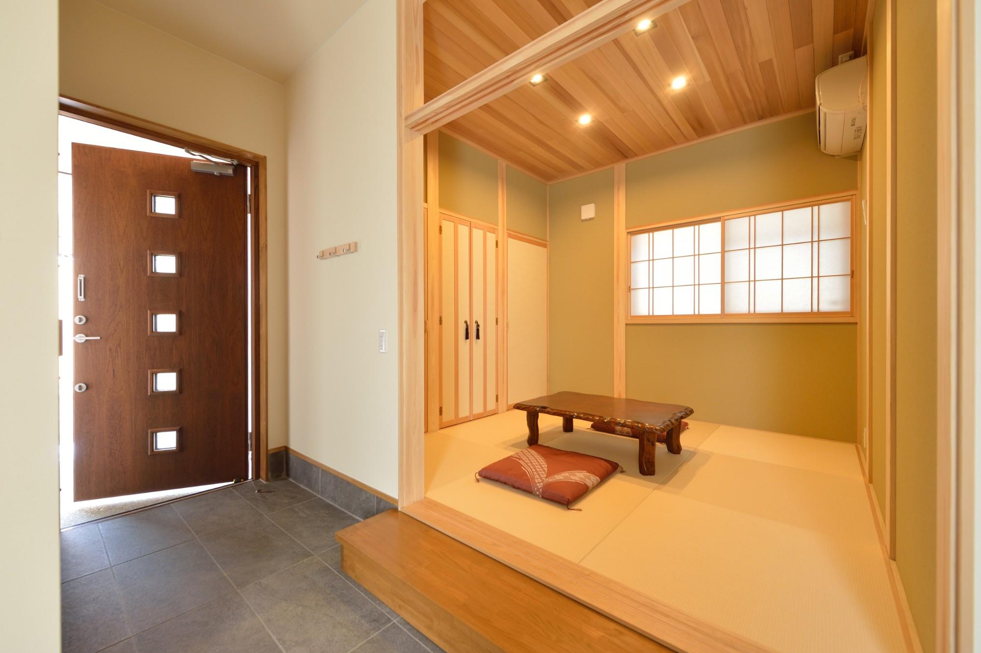 家'Sハセガワ株式会社「極み庵」の和風・和モダンな居室の実例写真