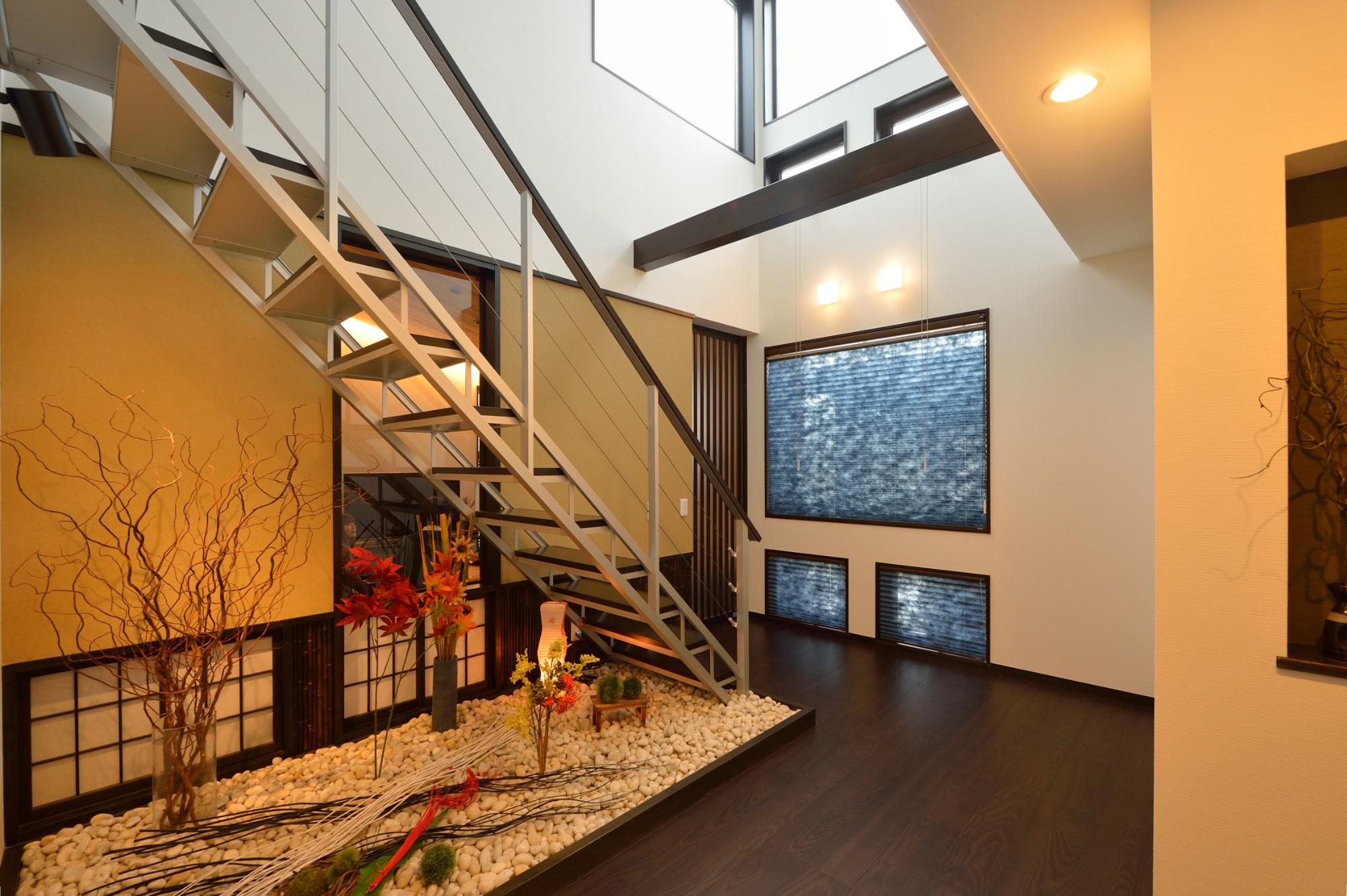 家'Sハセガワ株式会社「粋 ~SUI~」の和風・和モダンな階段の実例写真