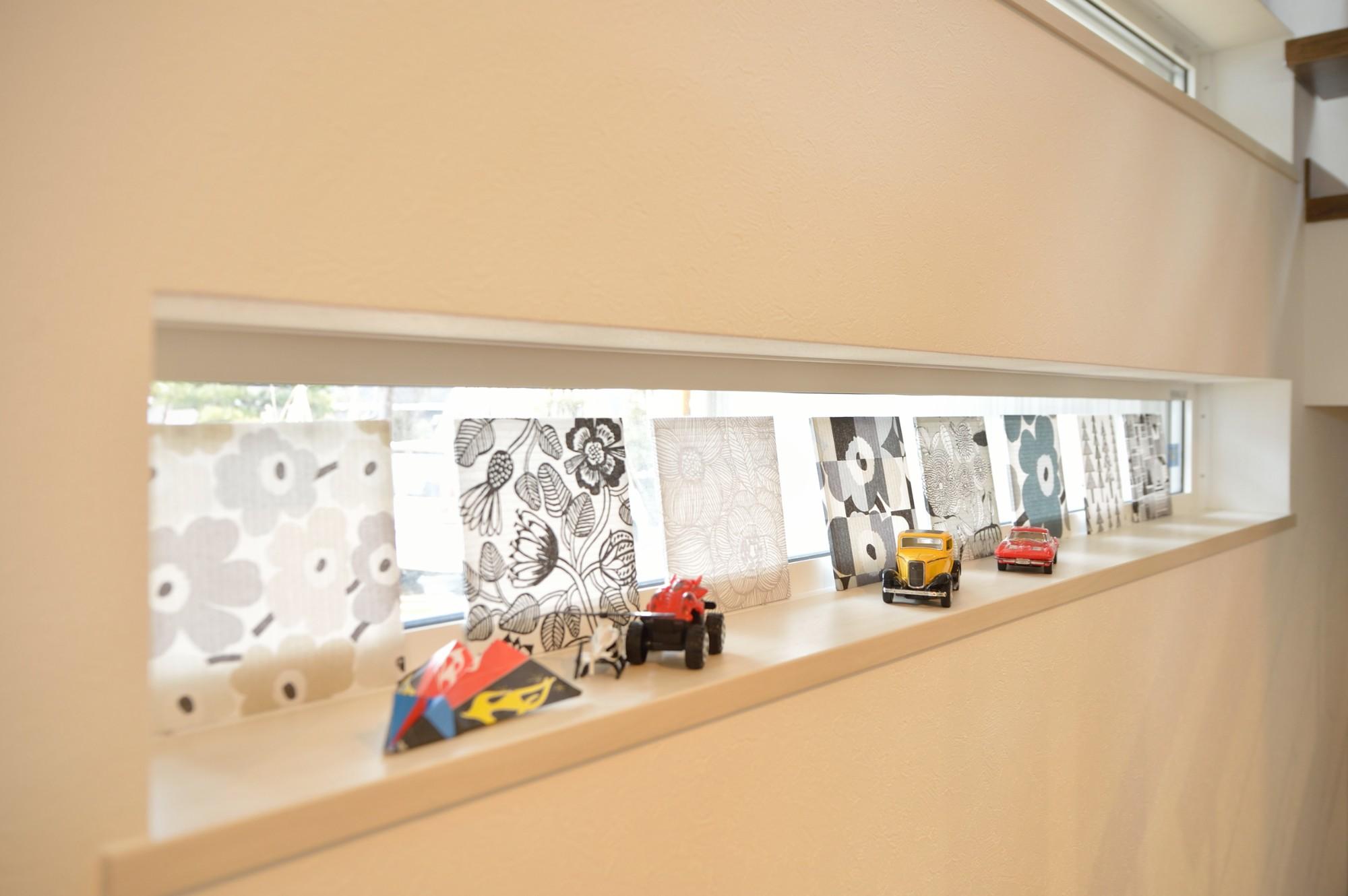 家'Sハセガワ株式会社「雑貨が似合う家」のシンプル・ナチュラルな収納スペースの実例写真