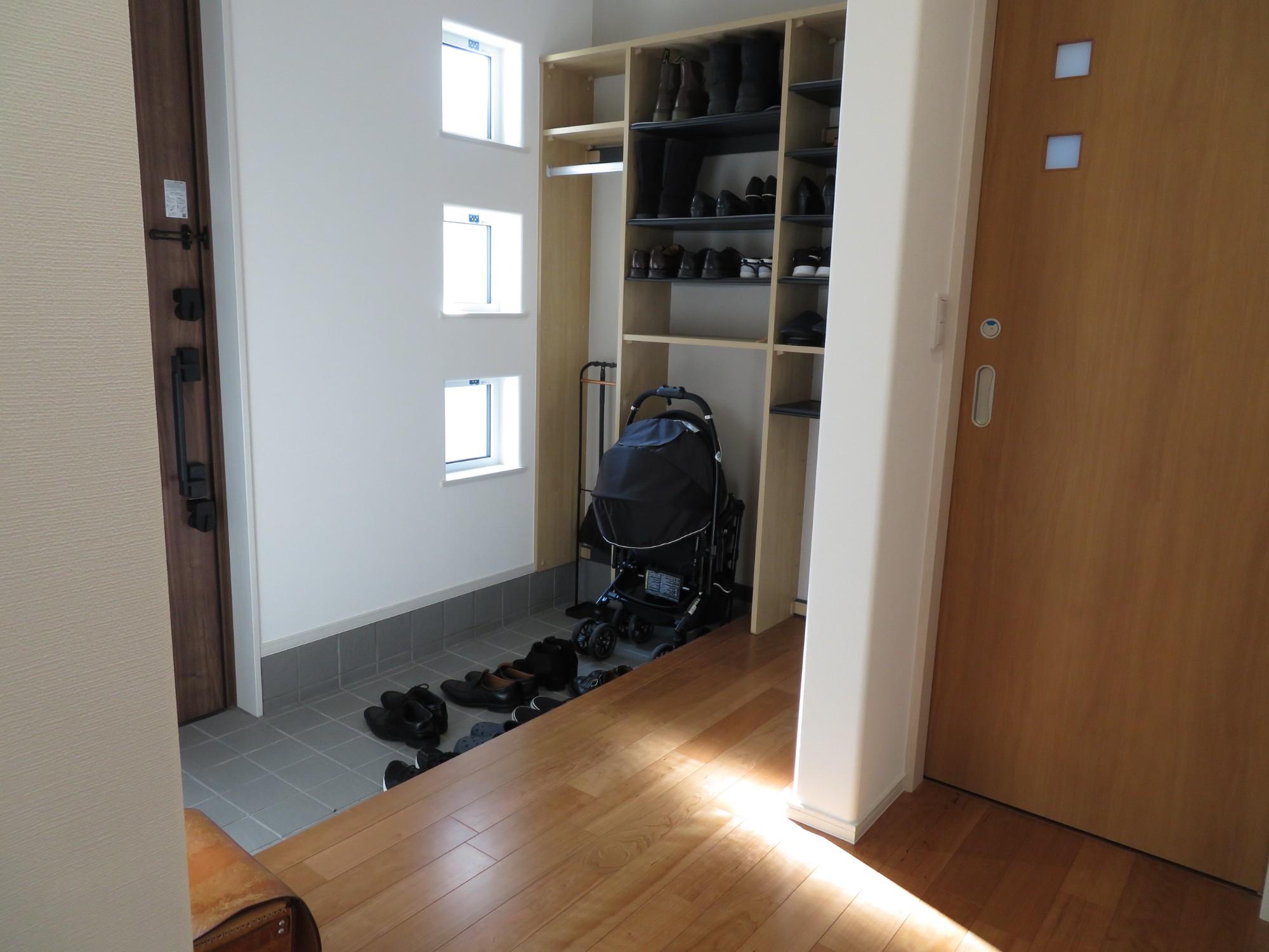 FPの家「効率重視の家事動線の家」の実例写真